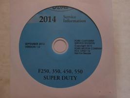 2014 Ford TRUCK F-250 F350 F250 450 550 Service Shop Repair Manual ON CD NEW - $277.15