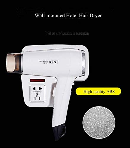 XZST New Type Hotel Bathroom And Home Wall Mount Hair Dryer Dry Skin Hanging Hai
