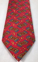 "Hermes Silk Necktie Tie 7483IA Magic Carpet Red 60"" 155cm Long/Classic - $124.73"