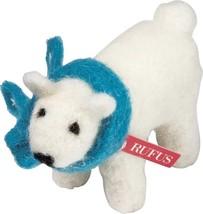 PBK Winter Decor - Felt Baby Rufus the Polar Bear - $10.95