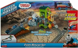 Thomas & Friends Track Master Fiery Rescue Set by Fisher Price, Ships Fr... - $69.30