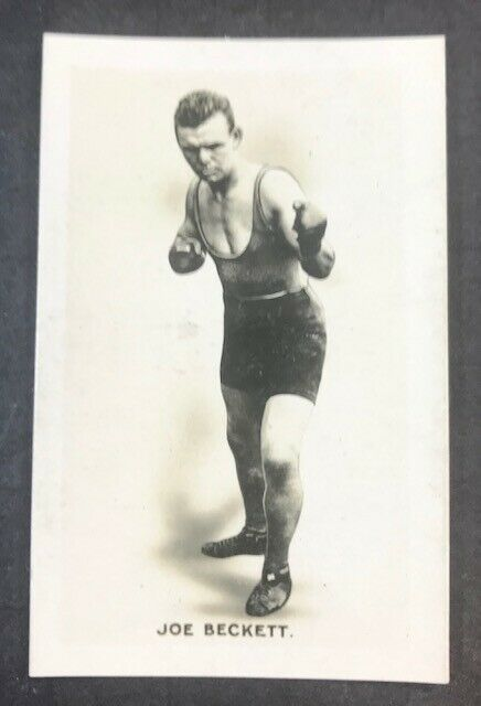 Primary image for 1923 Union Jack Monarchs of the Ring #2 JOE BECKETT