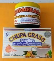CHUPA GRASA Ginger GEL(500G) + TEA CHUPA GRASS 30bags WEIGHT LOSS COMBO†... - $32.99