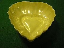 "Great BELLEEK  4"" HEART BOWL 3rd Green Mark/6th Period...SALE...FREE POS... - $26.73"