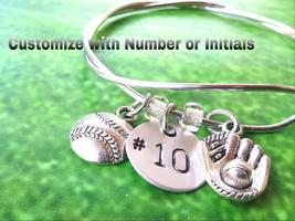 Team Jewelry, Coach Gift,Softball Bracelet, Baseball Bracelet, Custom Br... - $8.85