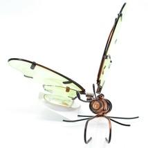 Butterfly w Glow in the Dark Wings Pot Edge Sitter on Hook Garden Decoration image 2