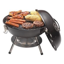 "Cuisinart CCG-190 14"" Gratelifter Portable Charcoal Barbecue Grill Black NEW - $32.95"