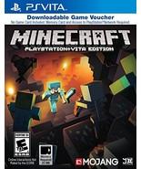 Minecraft Game Voucher - PlayStation Vita [video game] - $54.43