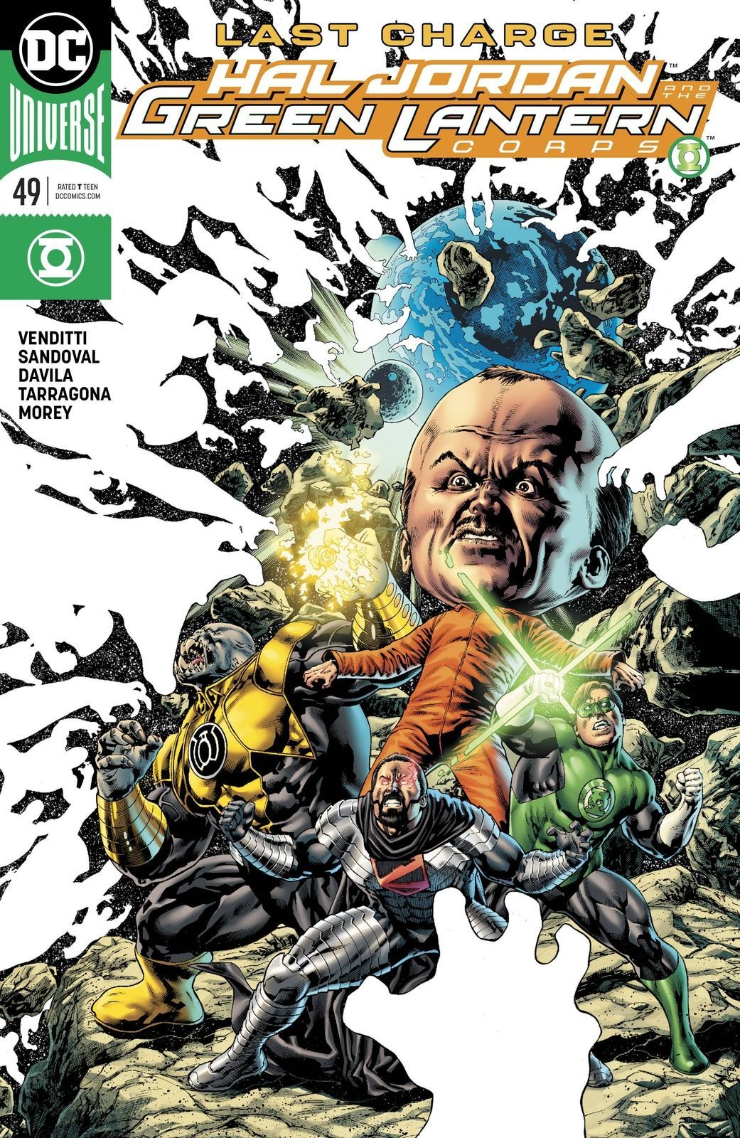 Hal Jordan and the Green Lanter Corps #49 NM