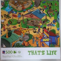 500 Piece Puzzle That's Life Zoo Sure-Lox - $39.59