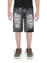 RS Boys Juniors Kids Distressed Ripped Destroyed Denim Jean Shorts