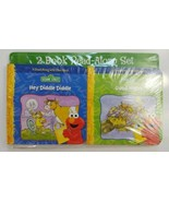 Sesame Street Read Along with Elmo Board Book Hey Diddle Diddle and Good... - $12.19