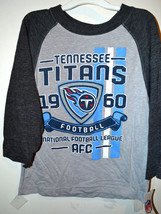 NFL Team Apparel Tennessee Titans Boys Long Sleeve T-Shirt Size L 12-14 NWT - $19.99