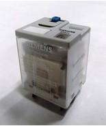 3TX7116-5NC03 PLUG-IN RELAY - 3PDT-10A,P.B.,DOOR,LED,PLUG-IN,24VDC - $12.12