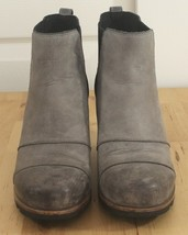Sorel Lea Wedge Bootie Taupe Joan Arctic Ankle Rain Boot Women's Sz 6.5 - $199.95