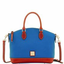 Dooney & Bourke Darcy Pebble Grain Satchel Persian
