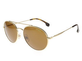 Authentic Carrera Sunglasses 131/S 06J70 Gold Havana Frames Brown Lens 56MM - £70.55 GBP
