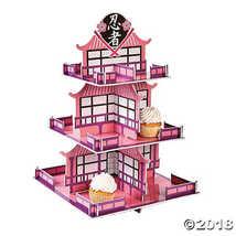 Ninja Girl Cupcake Stand - $10.24