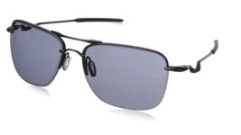 New OAKLEY Sunglasses Tailhook OO4087-01 Satin Black/Grey - $89.09
