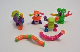 Lot Tangle Twist A Zoid Nickelodeon McDonalds Toy1996  #1 # 2  #6  #7  - $4.99