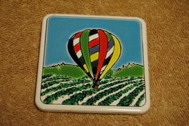 Old Hot Air Balloon Coaster - $8.00