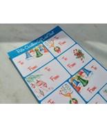 Retro Christmas Gift Label Sheet - $5.75