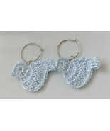 Crochet Bird Earrings / Bird Earrings / Handmade Bird Earrings - $10.00