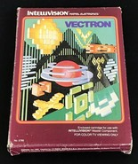 Vectron Intellivision Game 1982 In Original Box No Instructions Tested W... - $9.99