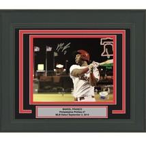 FRAMED Autographed/Signed MAIKEL FRANCO Philadelphia Phillies 8x10 Photo... - $109.99