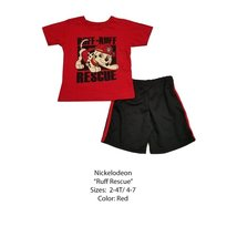 DISNEY KIDS SET (2T, RED PAW PATROL) - $8.81