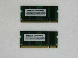 Neuf ! 4GB 2X2GB Mémoire Dell Latitude D520 D531N D630C D830N E6400 E6500 Xfr