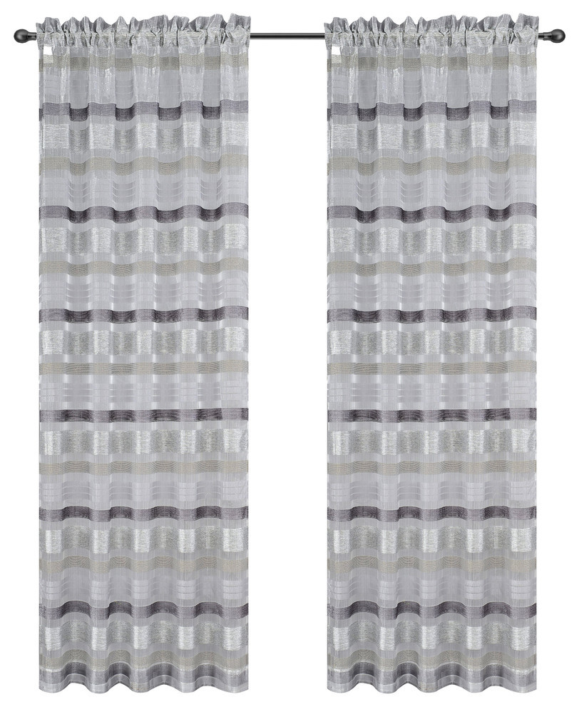 Becca Drapery Curtain Panels image 6