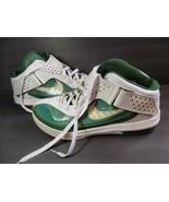 Nike LeBron SLDR V Mens Size 15 Emerald Green White 454141-107 James Sol... - $74.25