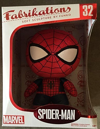 Funko Fabrikations Marvel Collector Corps Spider-Man Exclusive Plush Figure by S
