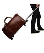 On Sale, Handmade Vintage Full Grain Leather Travel Bag, Duffel Bag, Hol... - $300.00