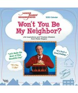 """2020 Mister Roger's Neighborhood Wall Calendar by Brown Trout 12"""" X 24"""" ... - $14.00"""