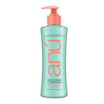 Anu' Hair Cleanser & Conditioner for Coarse Hair 16 oz