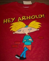 VINTAGE STYLE NICKELODEON HEY ARNOLD T-Shirt SMALL NEW w/ TAG - $19.80