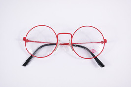 Authentic Lee Cooper Dallas Red Black Round Eyeglasses France Eyewear Unisex image 6