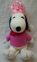 "Peanuts SNOOPY AS LOVE CHEF 8"" Plush Stuffed Animal Toy - $14.85"
