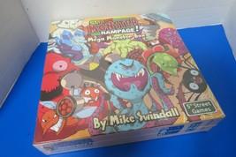 Smash Monster Rampage Mega Monster Box Mike Swindall New Sealed - $15.00