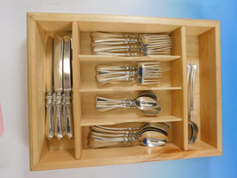 Nellie Custis by Lunt Sterling Silver Flatware Set for 6 Service 36 pieces - $3,850.00