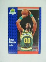 Benoit Benjamin Seattle Supersonics 1991 Fleer Basketball Card 189 - $0.98