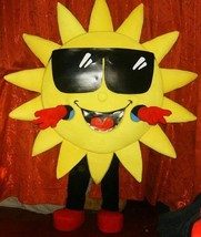 Sun Mascot Costume Adult Sun Costume For Sale - $299.00