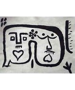 PAUL KLEE - SUPERB HAND PAINTED OIL (AFTER) £ wonderful $ unique gift € ... - $193.87