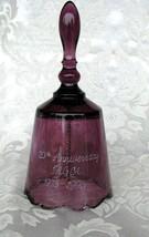 Fenton Bell Plum 76-96 FAGCA 20TH anniversary - $49.75
