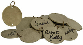 Country REPLACEMENT BIRTHDAY CALENDAR TAGS Blank Wooden Primitive Rustic... - $17.99