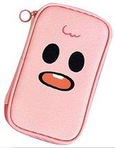 Ghostpop Pen Pencil Cosmetics Case Pouch, Pink