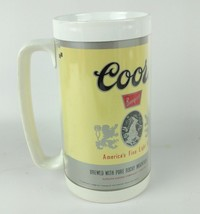 Vintage Coors Beer Mug Thermo-Serv Insulated Mug - $18.70