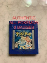 Pokemon Blue Version Authentic All 151 Game Boy Color - $45.00